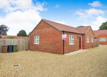 Thumbnail 2 bedroom detached bungalow for sale in Ramnoth Road, Wisbech