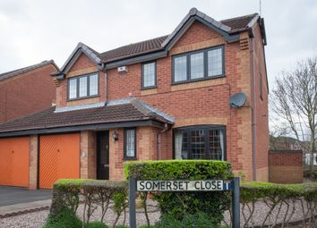 Thumbnail 4 bed detached house for sale in Somerset Close, Tamworth