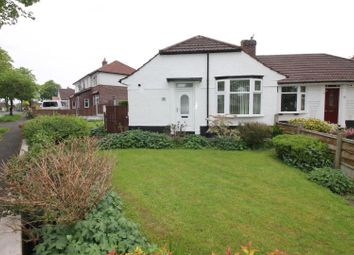 Thumbnail 2 bed semi-detached bungalow for sale in Porlock Road, Urmston, Manchester