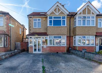 Thumbnail 4 bed semi-detached house for sale in Abbotts Road, Cheam, Surrey