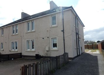 Thumbnail 2 bed flat to rent in Castlehill Road, Overtown, Wishaw