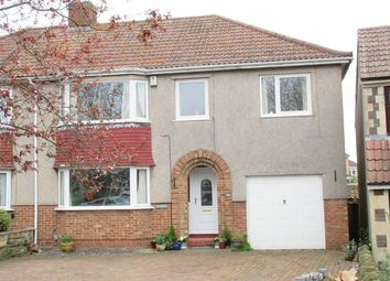 Thumbnail 5 bed semi-detached house for sale in Badminton Road, Downend, Bristol