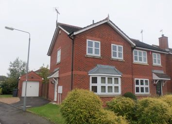 Thumbnail 3 bed semi-detached house to rent in Leafe Close, Chilwell, Nottingham