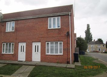 Thumbnail 2 bed terraced house to rent in Weston Miller Drive, Wisbech