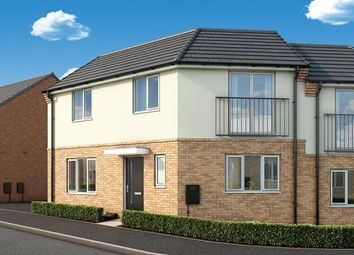 "Thumbnail 3 bed property for sale in ""The Mulberry At Fairfields, Corby"" at Glastonbury Road, Corby"
