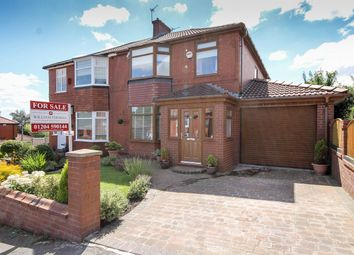 Thumbnail 3 bed semi-detached house for sale in Eastgrove Avenue, Bolton