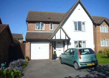 Thumbnail 4 bed detached house for sale in Hearte Close, Rhoose, Barry