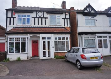 Thumbnail 3 bed semi-detached house for sale in Olton Road, Solihull