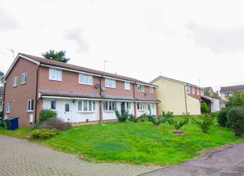 Thumbnail 2 bed terraced house to rent in Woodbrook Close, Papworth Everard