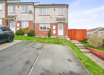 Thumbnail 3 bed end terrace house for sale in Cayley Way, Plymouth