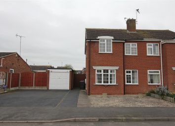 Thumbnail 3 bed semi-detached house for sale in Aster Close, Burbage, Hinckley