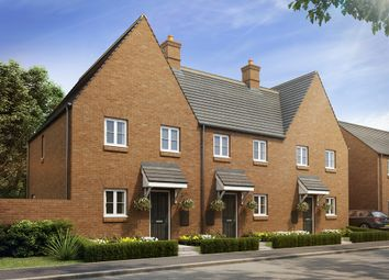 "Thumbnail 3 bed terraced house for sale in ""The Weedon"" at Heathencote, Towcester"