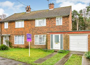 Thumbnail 3 bed semi-detached house for sale in Wigmore Road, Tadley