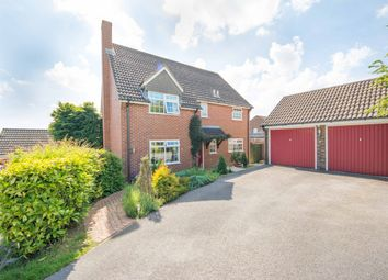 Thumbnail 4 bed detached house for sale in Hilltop Way, Salisbury