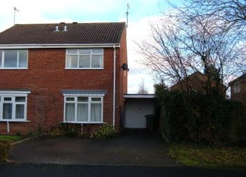 Thumbnail 2 bed semi-detached house to rent in Livingstone Avenue, Perton, Wolverhampton
