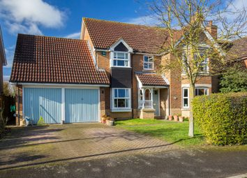 Thumbnail 4 bedroom detached house for sale in Thatcher Stanfords Close, Melbourn, Royston