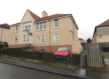 Thumbnail 2 bedroom flat to rent in Burns Crescent, Airdrie, North Lanarkshire