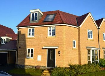 Thumbnail 3 bed semi-detached house for sale in Canal Way, Pineham Lock, Northampton