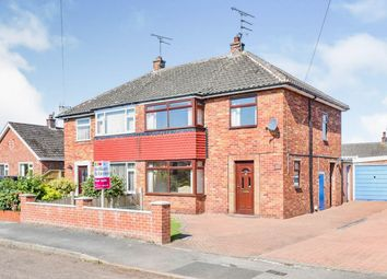 Thumbnail 3 bed semi-detached house for sale in Monckton Road, Retford