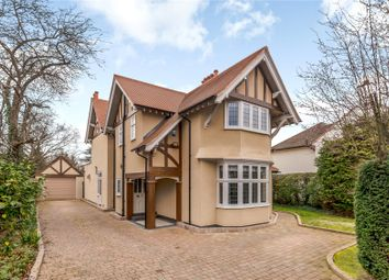 Thumbnail 4 bed detached house for sale in Orchehill Avenue, Gerrards Cross, Buckinghamshire