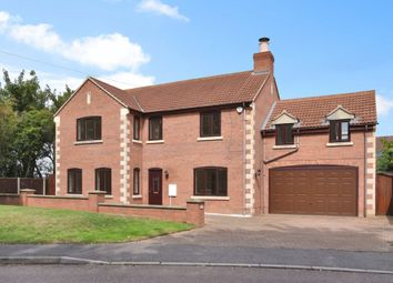 Thumbnail 5 bed detached house for sale in Roman Drive, Stibbington, Peterborough