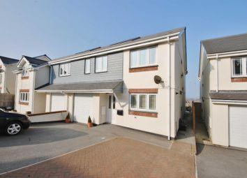Thumbnail 4 bed semi-detached house to rent in Keston Gardens, Wadebridge