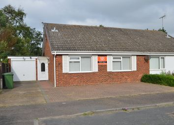 Thumbnail 2 bed semi-detached bungalow for sale in Earls Close, Felixstowe