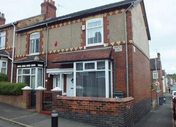 Thumbnail 2 bedroom end terrace house for sale in Jackfield Street, Burslem, Stoke-On-Trent
