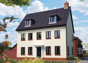 "Thumbnail 5 bed detached house for sale in ""The Warwick"" at Ashlawn Road, Rugby"