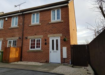 Thumbnail 3 bedroom end terrace house to rent in Toll Hill Drive, Castleford