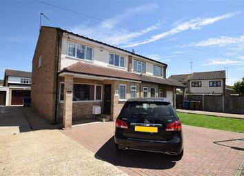 Thumbnail 4 bed semi-detached house for sale in The Willows, Grays, Essex