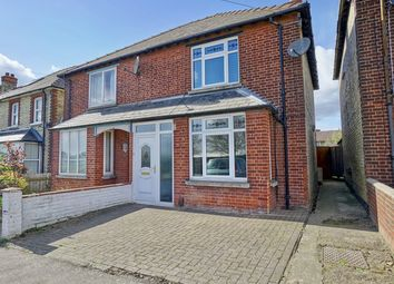 Thumbnail 3 bed semi-detached house for sale in St Peters Road, Huntingdon, Cambridgeshire