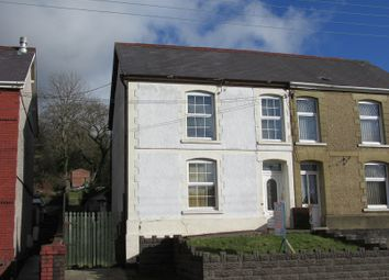 Thumbnail 4 bed semi-detached house for sale in Heol Y Gors, Cwmgors, Ammanford, Carmarthenshire.