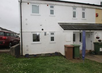 Thumbnail 1 bed flat to rent in Torver Close, Estover, Plymouth