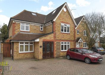 Thumbnail 4 bed detached house for sale in Pinecroft, Gidea Park