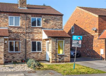 Thumbnail 2 bedroom semi-detached house to rent in Beech Park Close, Riccall, York