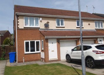 Thumbnail 3 bed semi-detached house for sale in Fern Avenue, Cramlington