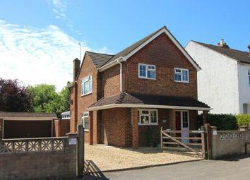 Thumbnail 3 bed detached house for sale in Holly Road, Aldershot