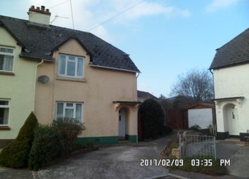 Thumbnail 3 bedroom semi-detached house to rent in Orchard Close, Sidford, Sidmouth