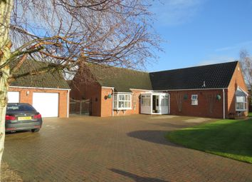 Thumbnail 3 bed detached bungalow for sale in Hillgate Street, Terrington St. Clement, King's Lynn