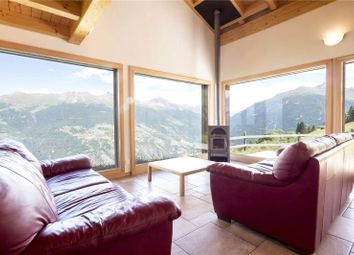 Thumbnail 4 bedroom detached house for sale in Charming Family Chalet, Les Collons, Switzerland