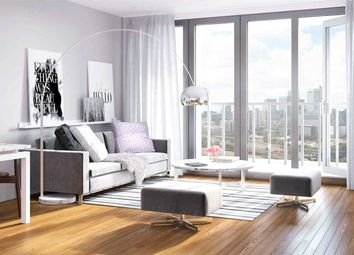 Thumbnail 1 bed flat for sale in Discovery Tower, 2 Hallsville Quarter, Canning Town, London
