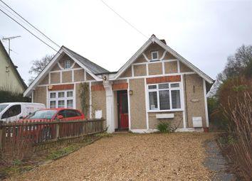 Thumbnail 2 bed semi-detached bungalow for sale in Pack Lane, Kempshott, Basingstoke