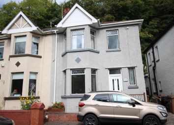 Thumbnail 3 bed semi-detached house for sale in Herbert Avenue, Risca, Newport