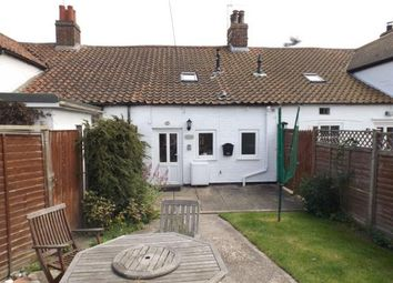 Thumbnail 2 bedroom terraced house for sale in Victoria Road, Mundesley, Norwich