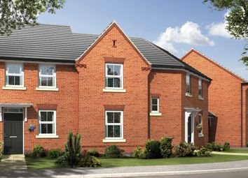 """Thumbnail 3 bed end terrace house for sale in """"Fairway"""" at Beancroft Road, Marston Moretaine, Bedford"""