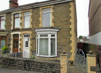 Thumbnail 3 bed semi-detached house for sale in Dynevor Road, Skewen, Neath.