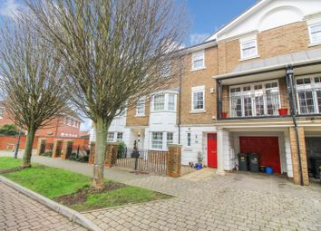 Thumbnail 4 bed terraced house for sale in Kendall Avenue, Kings Hill, West Malling, Kent