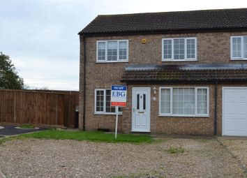 Thumbnail 3 bed semi-detached house to rent in Heath Lane, Leasingham, Sleaford