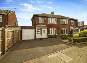 Thumbnail 3 bed semi-detached house for sale in Elmwood Avenue, Gosforth, Tyne And Wear